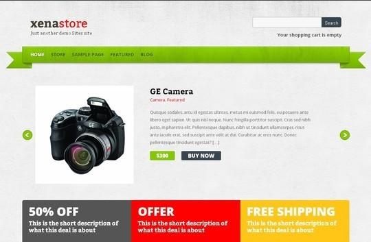 10 WordPress FREE Themes To Start Your Own eStore 89