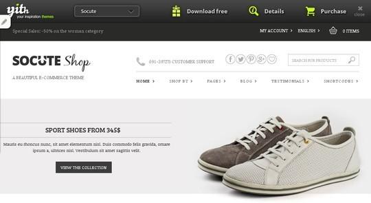10 WordPress FREE Themes To Start Your Own eStore 5