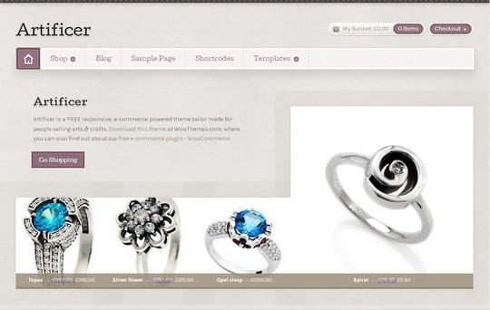 10 WordPress FREE Themes To Start Your Own eStore 7