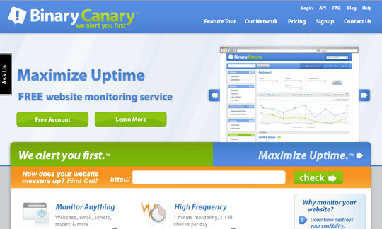 40 Free Web Services & Tools To Monitor Website Downtime 41