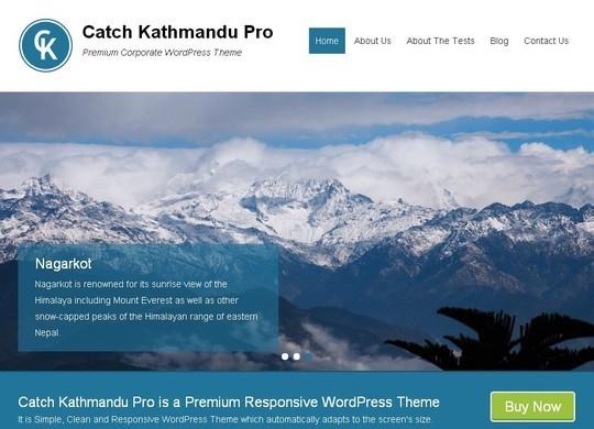 40 Fresh And Free WordPress Themes 4