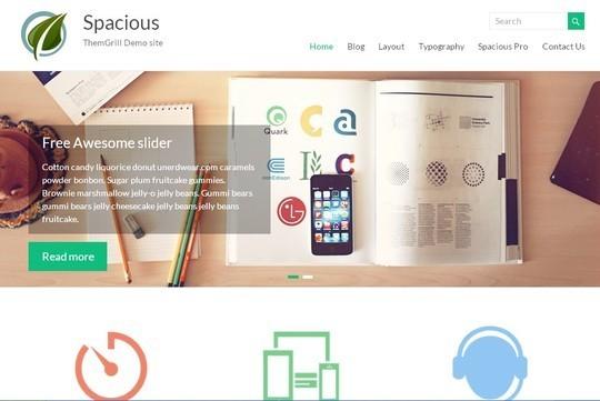 40 Fresh And Free WordPress Themes 6