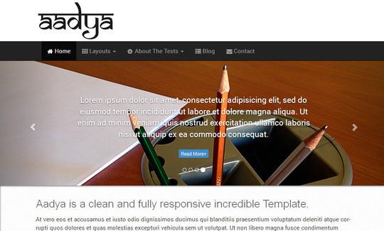 40 Fresh And Free WordPress Themes 17