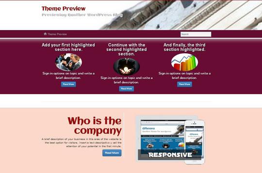 40 Fresh And Free WordPress Themes 5