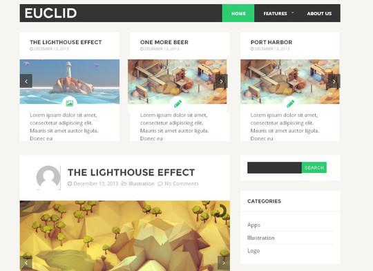40 Fresh And Free WordPress Themes 31