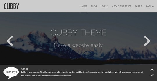 40 Fresh And Free WordPress Themes 32