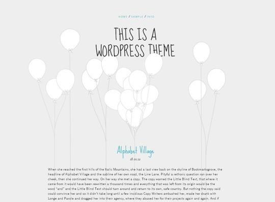 40 Fresh And Free WordPress Themes 39