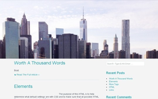 40 Fresh And Free WordPress Themes 23