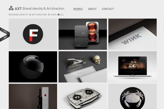 Stunning Shades of Grey in Web Designs 17