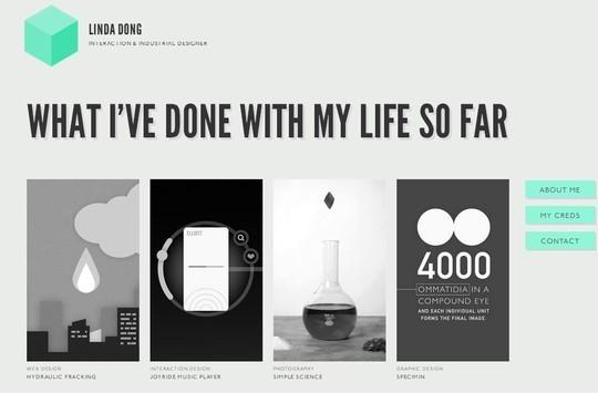 Stunning Shades of Grey in Web Designs 4
