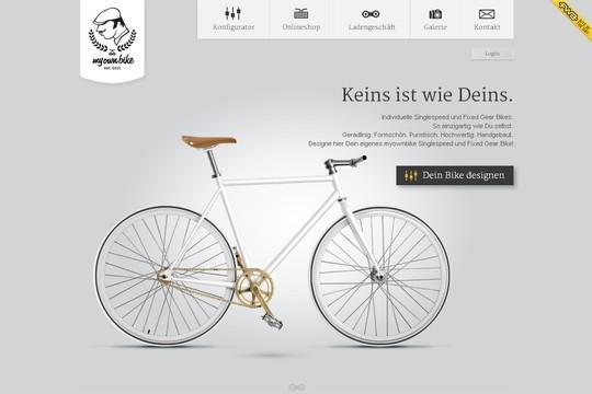 Stunning Shades of Grey in Web Designs 3