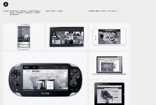 Stunning Shades of Grey in Web Designs 10