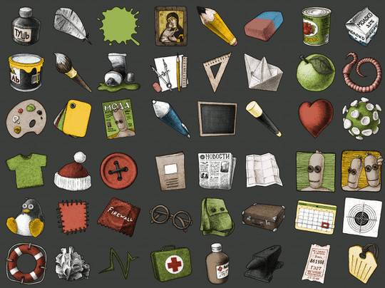 17 Free Awesome Hand-Drawn Icon Sets 5