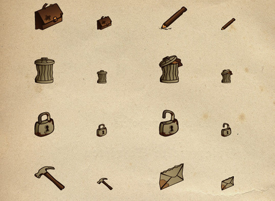 17 Free Awesome Hand-Drawn Icon Sets 18