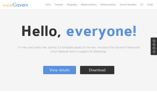 13 Best Free Bootstrap Joomla Themes 5