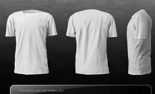 13 Free PSD T-Shirt Templates 13