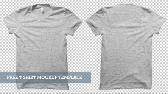 13 Free PSD T-Shirt Templates 3