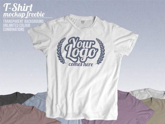 13 Free PSD T-Shirt Templates 7