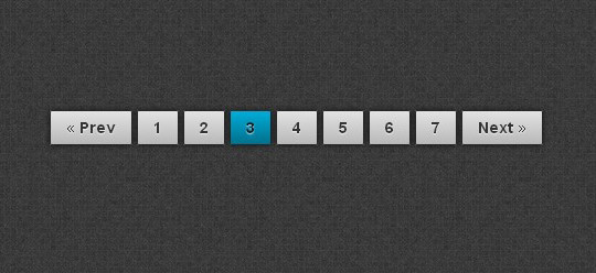 Collection Of Free CSS3, jQuery Pagination Plugins 4