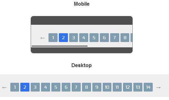 Collection Of Free CSS3, jQuery Pagination Plugins 8