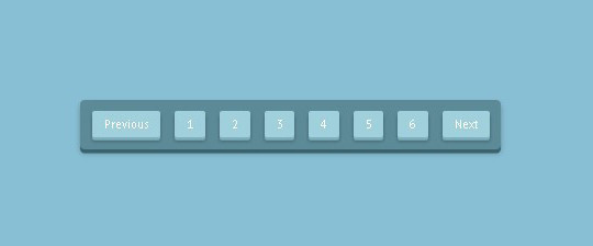 Collection Of Free CSS3, jQuery Pagination Plugins 23