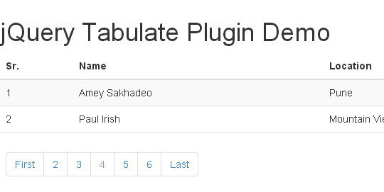 Collection Of Free CSS3, jQuery Pagination Plugins 28
