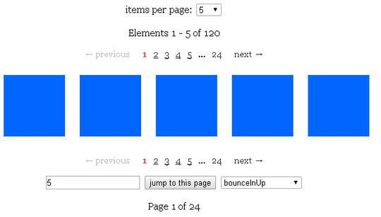 Collection Of Free CSS3, jQuery Pagination Plugins 29