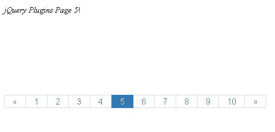 Collection Of Free CSS3, jQuery Pagination Plugins 32