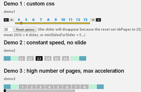Collection Of Free CSS3, jQuery Pagination Plugins 11