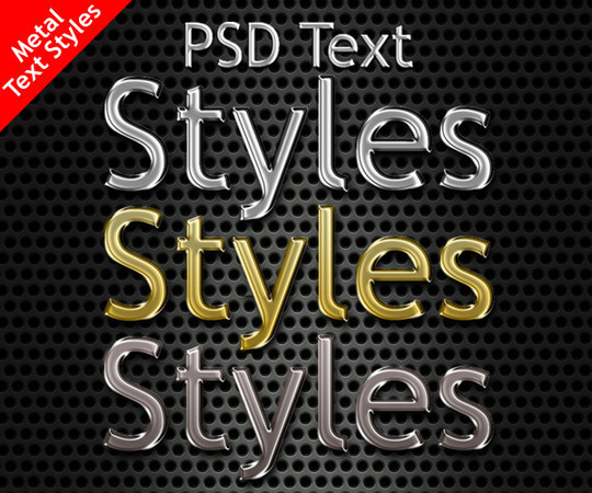An Ultimate Collection Of Free Photoshop Styles 3