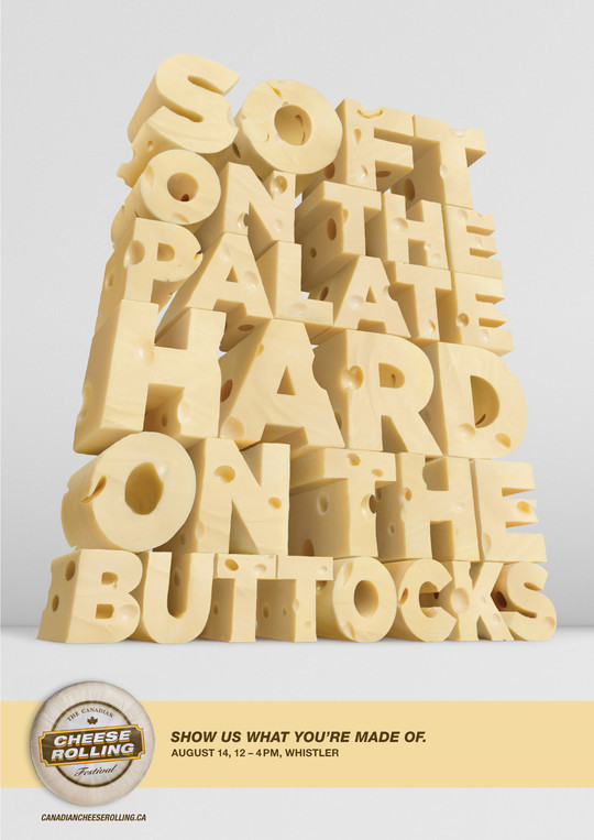 Excellent Uses of Typography in Print Ads 12