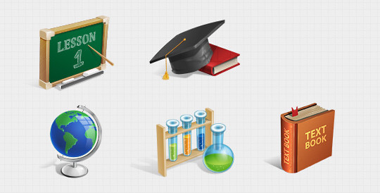 Free And Fresh Icons In PSD For Web Designers 5