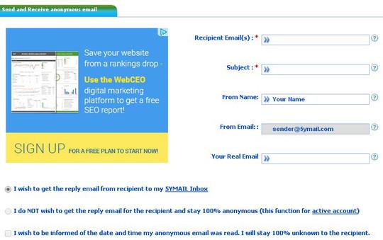 8 Web Apps For Sending Emails Without Registration 6