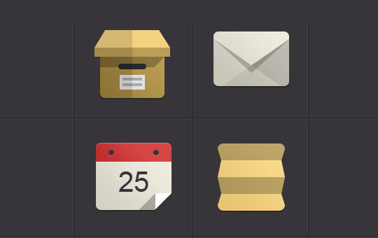 12 Best Free Flat Icons PSD 52