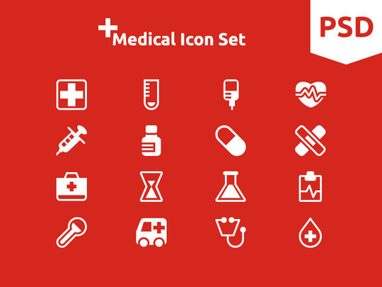 12 Best Free Flat Icons PSD 13