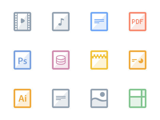 12 Best Free Flat Icons PSD 4