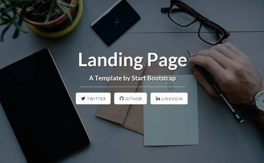 38 Useful Responsive Bootstrap Templates, Skins And Resources 11
