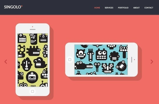 38 Useful Responsive Bootstrap Templates, Skins And Resources 32