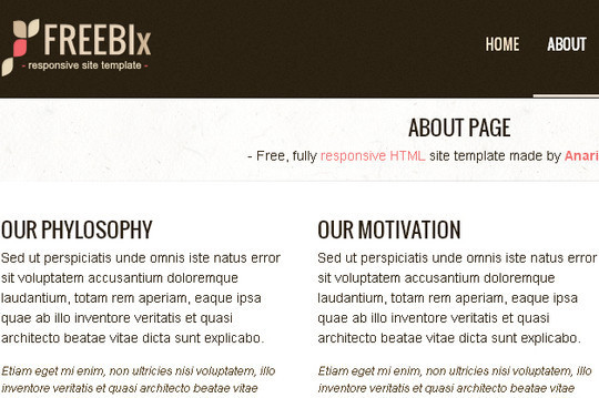 38 Useful Responsive Bootstrap Templates, Skins And Resources 33