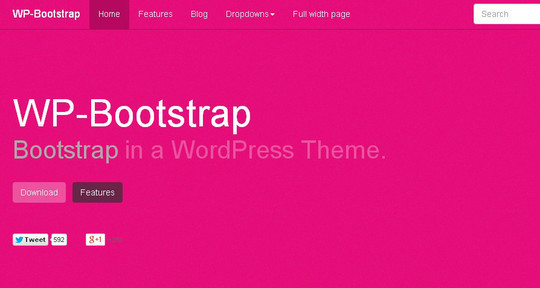 38 Useful Responsive Bootstrap Templates, Skins And Resources 22