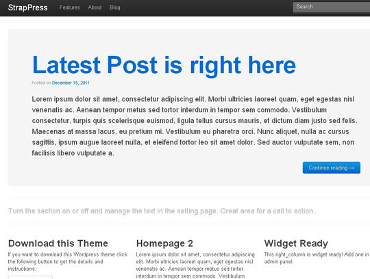38 Useful Responsive Bootstrap Templates, Skins And Resources 37