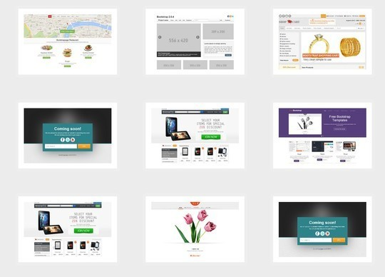 38 Useful Responsive Bootstrap Templates, Skins And Resources 24