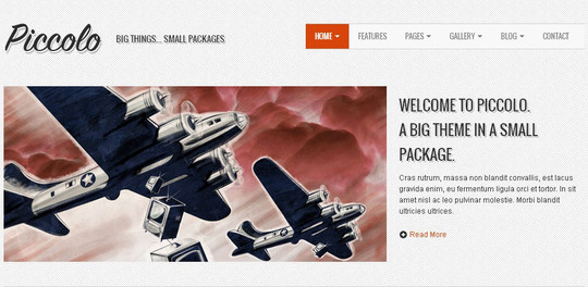 38 Useful Responsive Bootstrap Templates, Skins And Resources 6