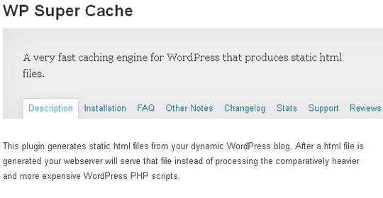 9 Essential WordPress Cache plugins 3