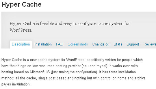 9 Essential WordPress Cache plugins 7