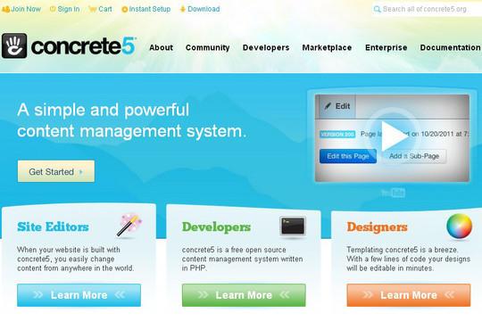 12 Free CMS Alternatives To Wordpress 3