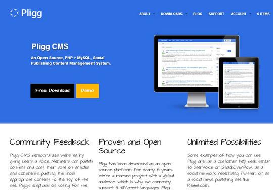 12 Free CMS Alternatives To Wordpress 8