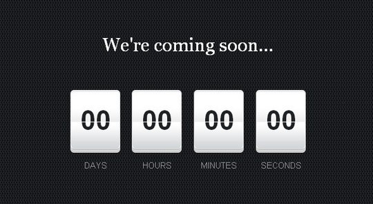 15 Awesome jQuery Countdown Timers 4