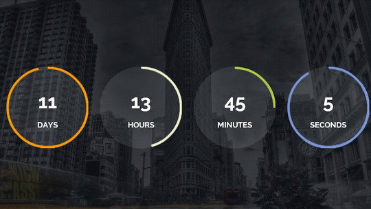 15 Awesome jQuery Countdown Timers 13