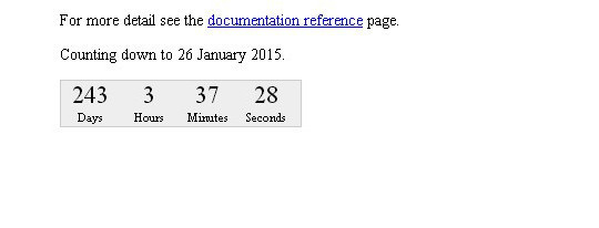 15 Awesome jQuery Countdown Timers 15